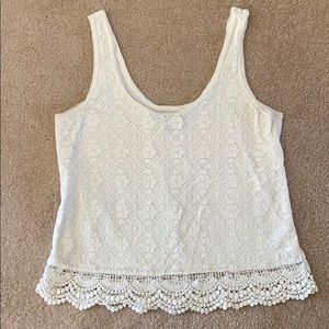 Cream AE tank top!